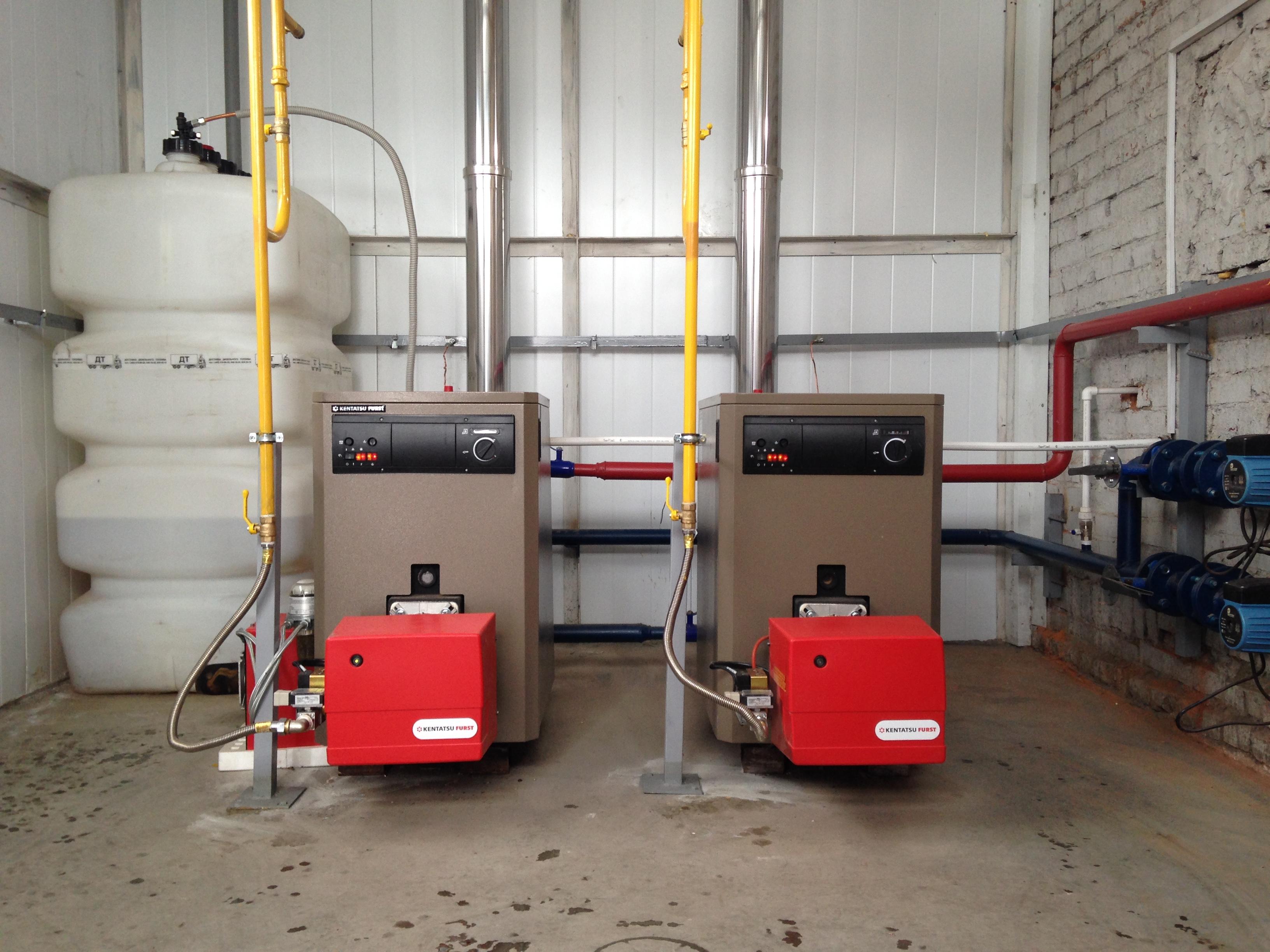 газовая котельная мощностью 100 квт